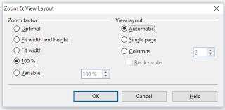 layout view zoom setting view options for documents apache openoffice wiki