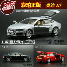 audi cars all models aliexpress com buy 1 32 audi a7 three door sound and light back