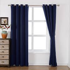 amazlinen sleep well blackout curtains toxic free energy smart