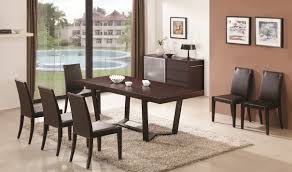 class dining table with colibri buffet u0026 chair in dark oak free