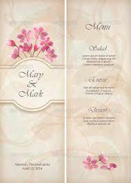 menu template wedding wedding template 25 wedding menu templates free sle