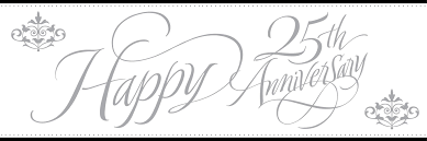 25 wedding anniversary happy 25th wedding anniversary tbrb info