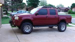 nissan frontier suspension lift 04 nissan frontier youtube