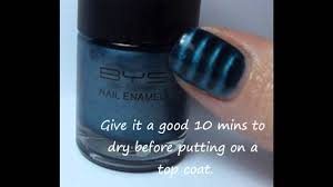 how to use bys magnetic nail polish youtube