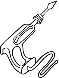 Free Tools Coloring Pages Tools Coloring Page