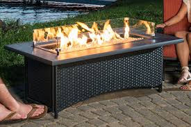 Patio Fire Pit Table Outdoor Coffee Table Gas Fire Pit Roselawnlutheran