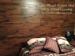 wood flooring accent wall diy doityourself rustic house