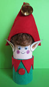 recycle your empty toilet paper rolls in christmas elves and make