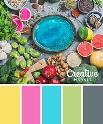 get inspired by the scenes of spring with these 15 color schemes