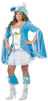 Size Burlesque Halloween Costumes Women U0027s Musketeer Costume Costumes