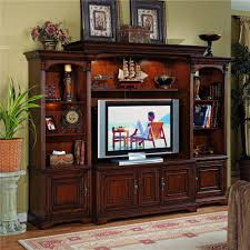 Entertainment Center Cabinet Doors Entertainment Center With Interchangeable Wood Glass Doors By