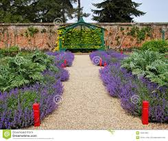 Walled Garden For Sale by An English Walled Garden Stock Images Image 14905504