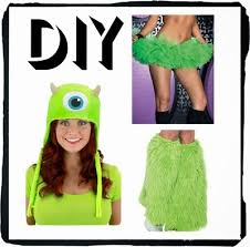 Monsters Halloween Costumes Adults Diy Mike Sulley Costumes Costumes Costume Accessories