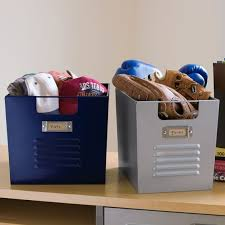 Pottery Barn Storage Bins Locker Bins Pbteen