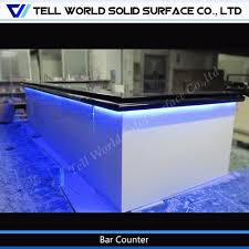 the newest designed solid surface trends including latest bar