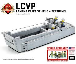 brickmania jeep instructions lcvp landing craft vehicle personnel