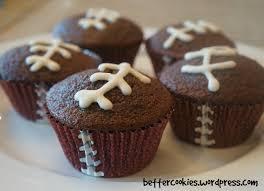football cupcakes chocolate football cupcakes cupcakes gallery