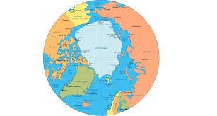 Arctic Ocean Map Arctic Research Across Boundaries Arctic Circle