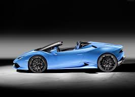 car lamborghini blue wallpaper lamborghini huracan lp610 4 spyder supercar blue