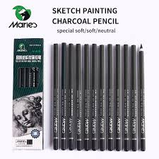 pencil for painting s 12 pcs charcoal pencil for painting drawing lapiz set