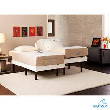 Bjs Bed Frame Sei Mycloud Split King Size Adjustable Bed Frame With Mattress