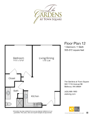 floor plans u0026 features the gardens at town square bellevue wa