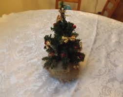 vintage artificial christmas tree etsy