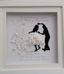 40th wedding anniversary gifts personalised handmade ruby 40th wedding anniversary gift frame