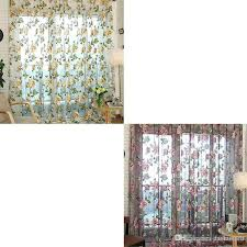 Door Curtains For Sale Voile Door Curtain Window Room Drape Panel Floral Peony Scarf