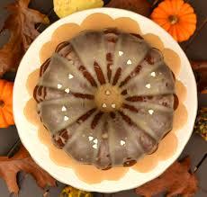 pumpkin bundt cake with brown butter glaze