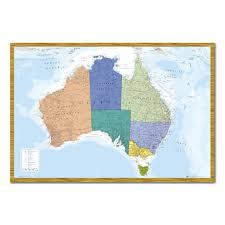 Cork World Map by Australia U0026 Tasmania Map Pinboard Cork Board With Pins Iposters