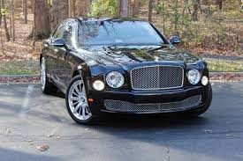 bentley mulsanne black 2016 2016 bentley mulsanne stock 6nc002073 for sale near vienna va