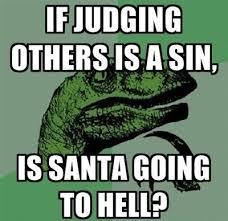 What If Dinosaur Meme - santa