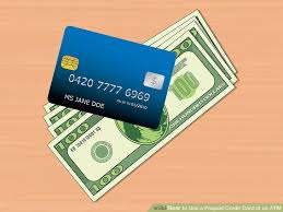 prepaid credit card how to use a prepaid credit card at an atm 9 steps