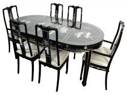 black and white dining room set home decor ryanmathates us