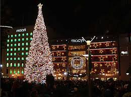 christmas lights san francisco 2017 2018 holiday events union square tree lighting ice skating