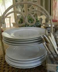 tiered plate holder foter