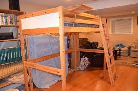 Ikea Wooden Loft Bed Instructions by Ikea Vradal Twin Loft Bed Saanich Victoria