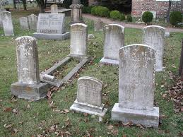 pictures of tombstones weathering rates