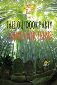 fall outdoor party games for teens