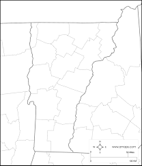 Map Of Vt Free Map Of Vermont