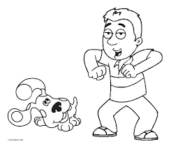 coloring pages extraordinary blues clues coloring pages