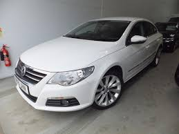 volkswagen white car used volkswagen passat cc white for sale motors co uk