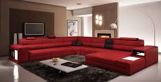 Modern Italian Living Room Furniture Italian Leather Sectional Sofas Modern Living Room