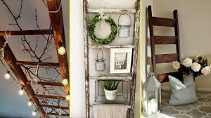 diy farmhouse style rustic ladder decor ideas 2017 home decor