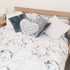 Asda Single Duvet Marble Reversible Duvet Cover Home U0026 Garden George