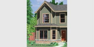 Duplex House Plans For Narrow Lots Duplex House Plans Narrow Lot Duplex House Plans D 550
