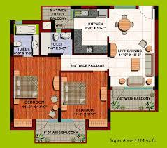 Orange Floor L Floor Plan Orange County Indirapuram Ghaziabad Sixsense