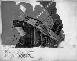 sinking of the lusitania image the sinking of the lusitania ship sinking jpg titanic wiki