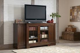 Tv Console Hodgenville Rustic Brown Tall Extra Large Tv Stand Entertainment